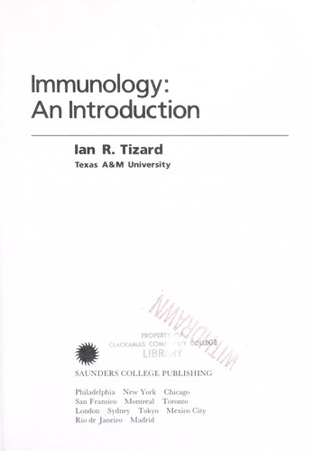 Immunology, an Introduction