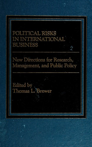 Political Risks in International Business