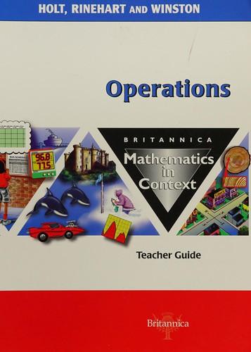 Tg Operations Math/Context 2003 G 6