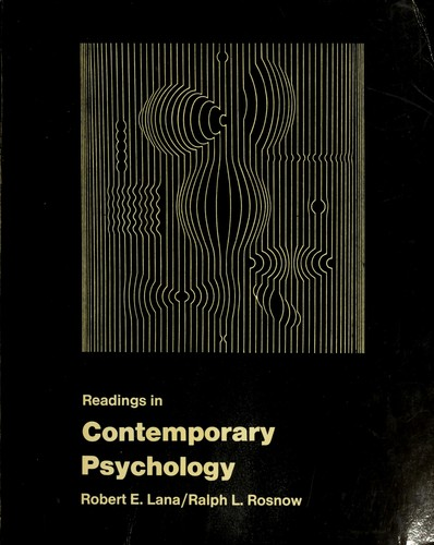 Readings in Contemporary Psychology