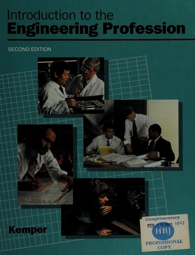 Introduction to the Engineering Profession