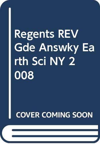 Regents REV Gde Answky Earth Sci NY 2008