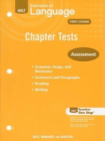 Chapter Test Tchr Wkbk Eolang 2009 G7