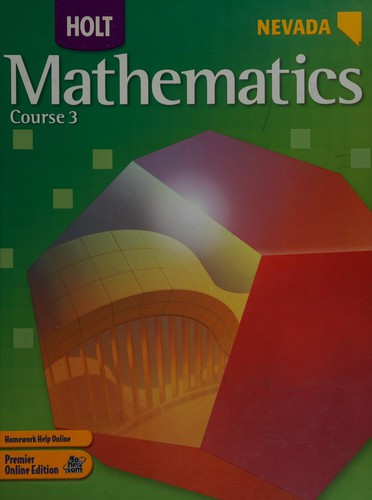 Holt Mathematics Nevada