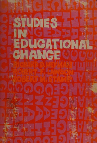 Studies in Educational Change