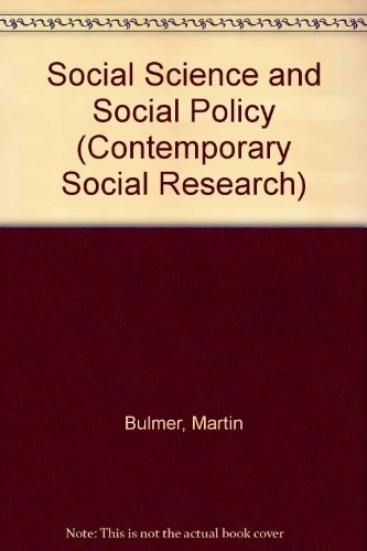 Social Science and Social Policy