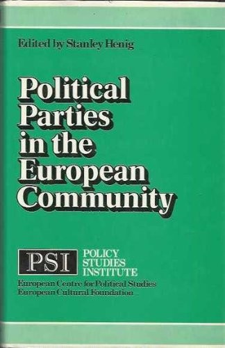 Political Parties in the European Community