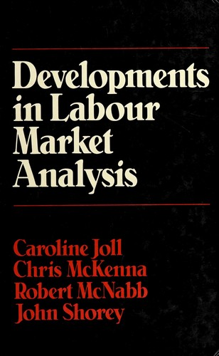 Developments in Labour Market Analysis