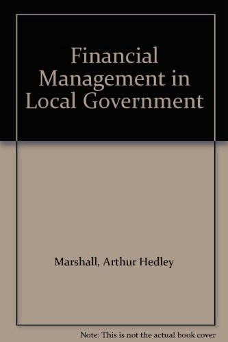 Financial Management in Local Government,
