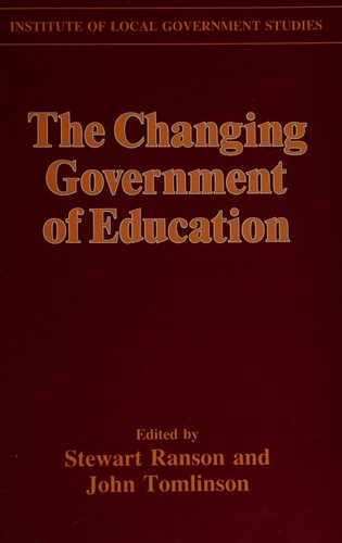 The Changing Government of Education