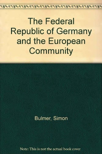 The Federal Republic of Germany and the European Community