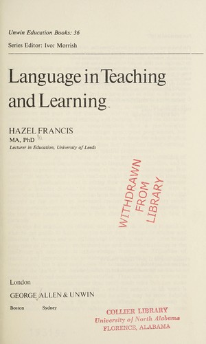 Language in Teaching and Learning