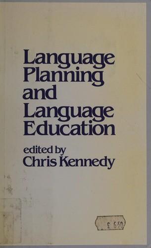 Language Planning and Language Education