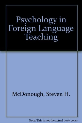Psychology in Foreign Language Teaching