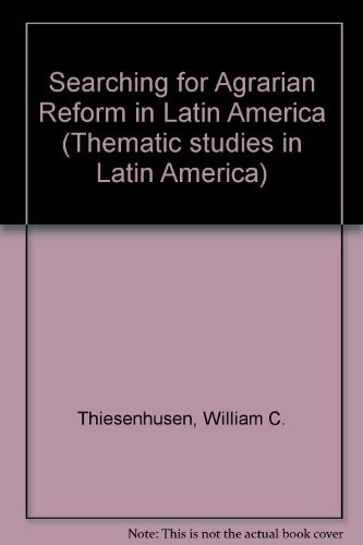 Searching for Agrarian Reform in Latin America