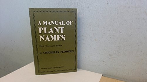 A Manual of Plant Names,
