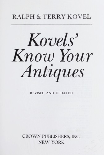 Knovels' Know You Antiques