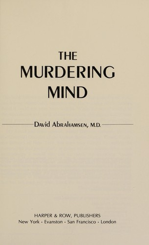 The Murdering Mind
