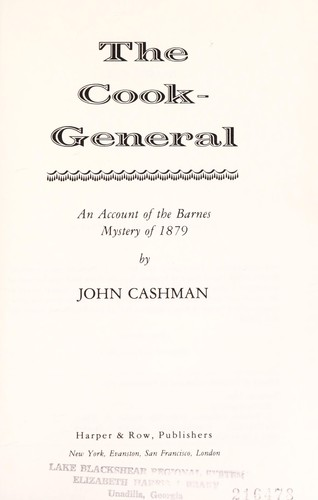 The Cook General