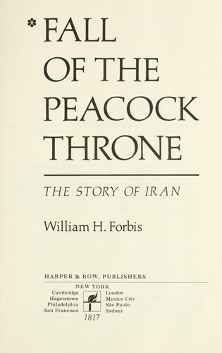 Fall of the Peacock Throne