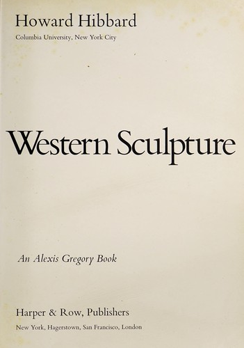 Masterpieces of Western Sculpture