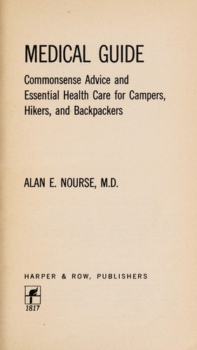 The Outdoorsman's Medical Guide
