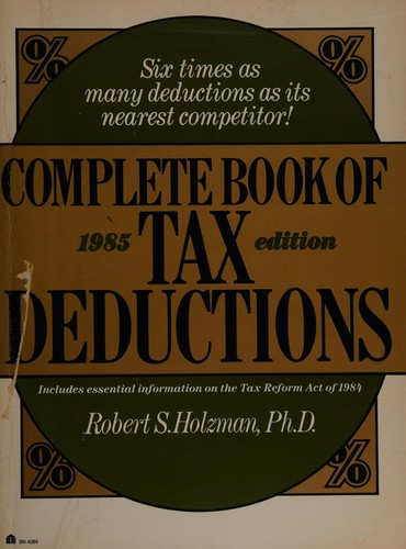 Complete Book of Tax Deductions