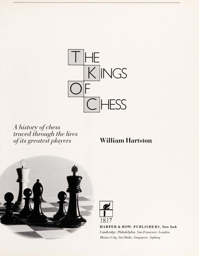 The Kings of Chess