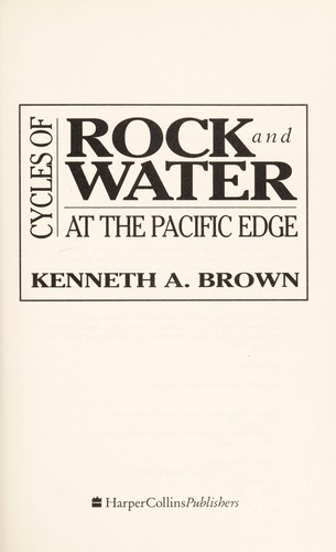 Cycles of Rock and Water