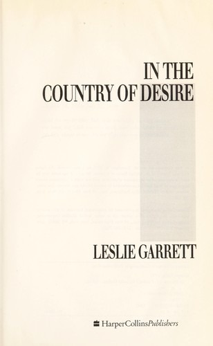 In the Country of Desire