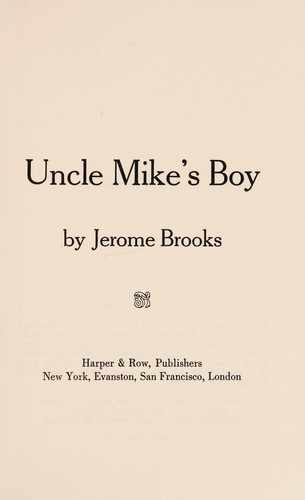 Uncle Mike's Boy