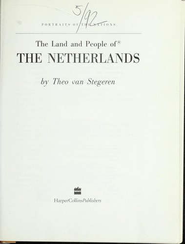 The Land and People of the Netherlands