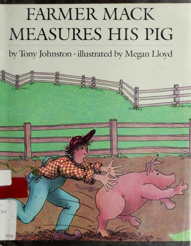 Farmer Mack Measures His Pig