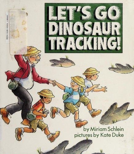 Let's Go Dinosaur Tracking!