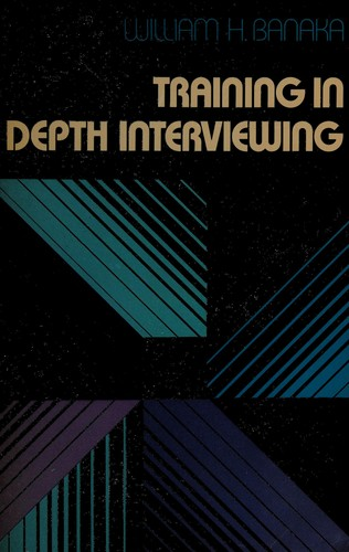 Training in Depth Interviewing