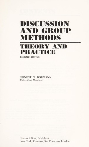 Discussion and Group Methods
