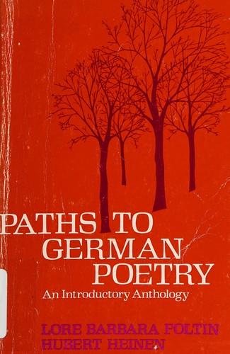 DM Paths to German Poetry PB
