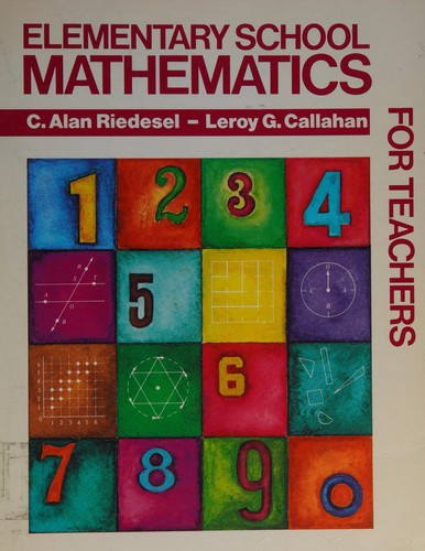 Elementary School Mathematics for Teachers