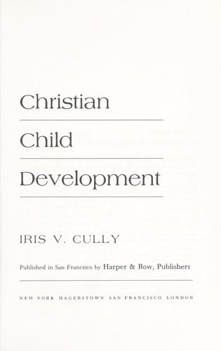Christian Child Development