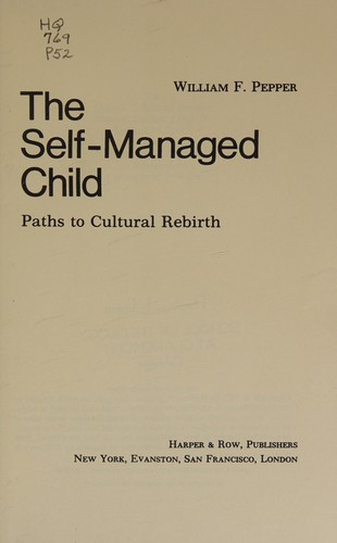 The Self-Managed Child