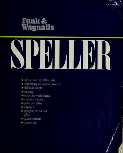 Funk & Wagnalls Speller