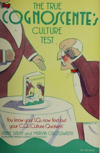 The True Cognoscente's Culture Test