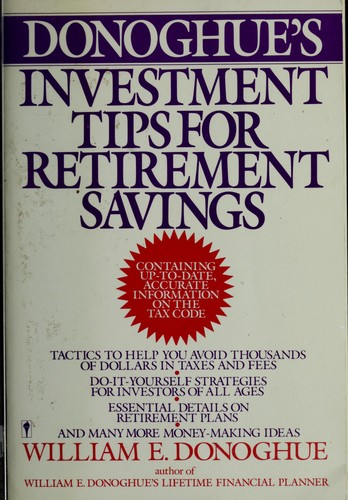 Donoghue's Investment Tips for Retirement Savings
