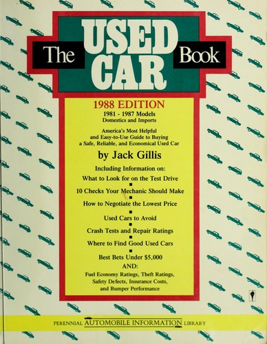 The Used Car Book 1988