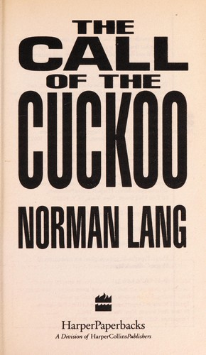 The Call of the Cuckoo