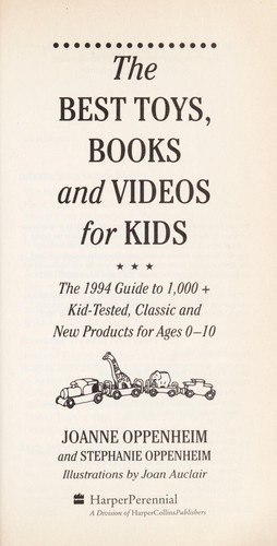 Best Toys, Books, and Videos for Kids