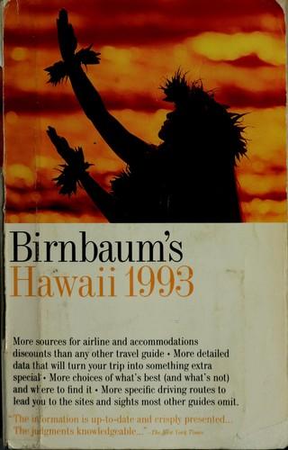 Birnbaum's Hawaii 1993
