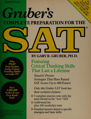Gruber's Complete Preparation for the SAT