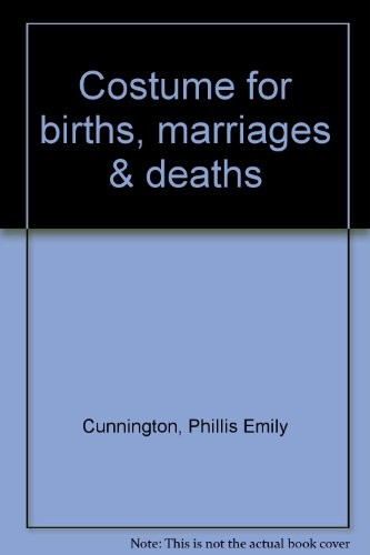 Costume for Births, Marriages & Deaths
