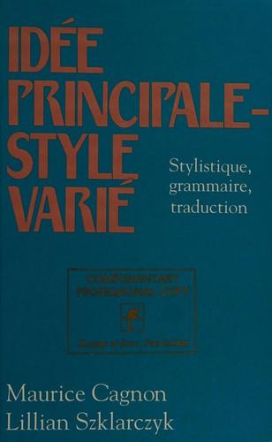 Idee Principale, Style Varie
